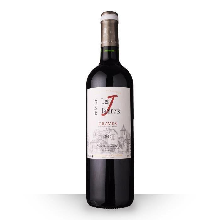 Château Les Jamnets 2016 AOC Graves - 75cl - Vin Rouge