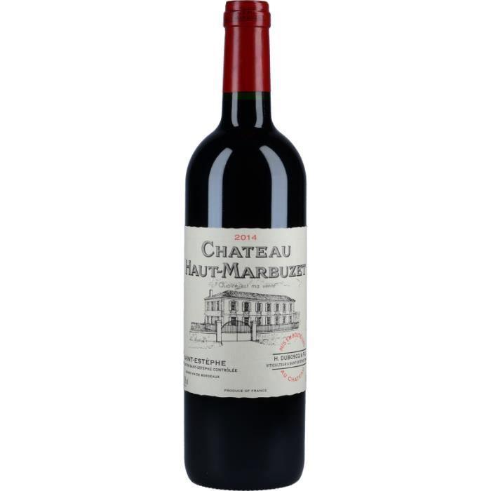 Vin Rouge - Château Haut-Marbuzet 2014 - Bouteille 75cl