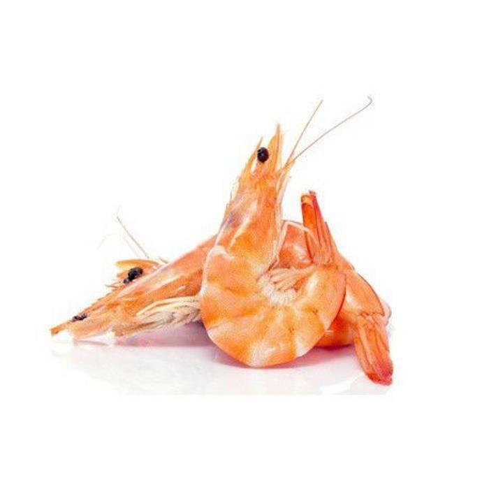 Crevette rose cuite 40-60 lot 2 kg Madagascar ou Amérique sud