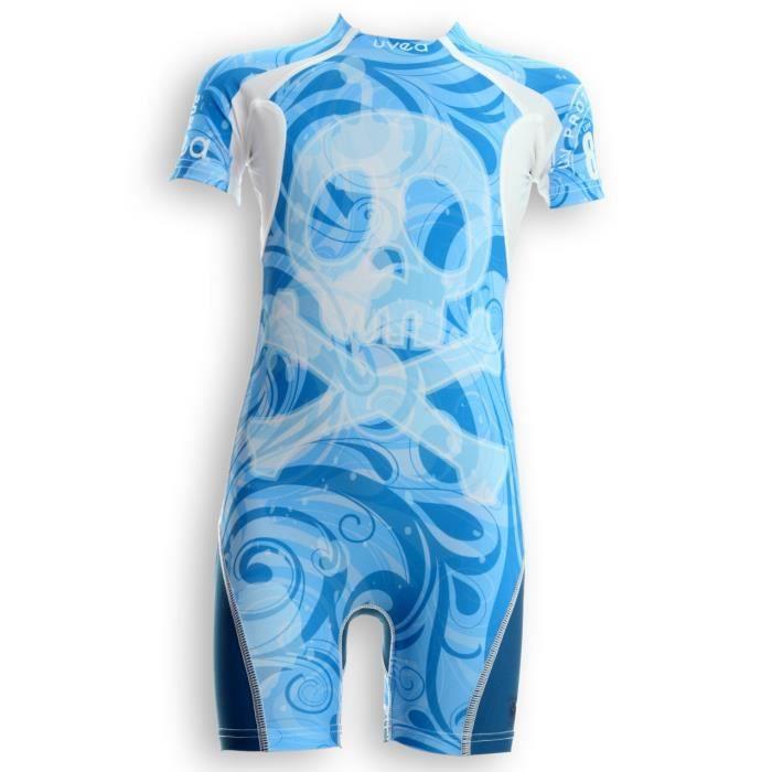 UVEA Combinaison maillot de bain kidsguard anti UV 80+ Manly - Taille 9/18 mois - Imprimé booo