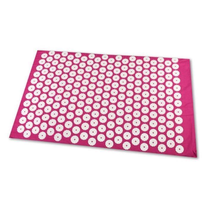 Tapis d'acupression Shanti (65 x 41 cm. Pink)