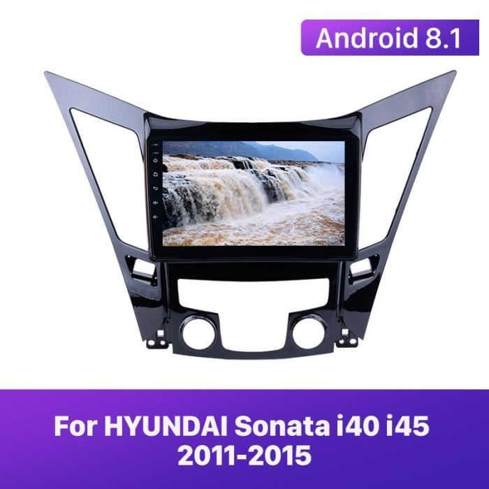 9 pouces Android 9.1 lecteur multimédia de voiture Radio pour HYUNDAI Sonata i40 i45 2011 2012 2013 2014 2015 2din unité de tête GPS