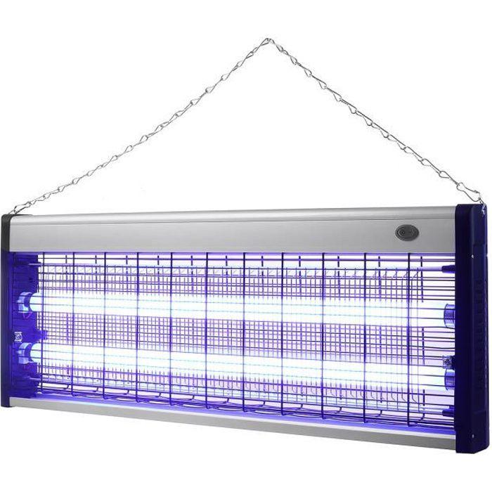 Lampe UV Tue-Mouches Destructeur d' Insectes Electrique Tue Mouche Electrique Lampe Insecte 40W