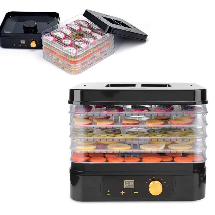 ZJCHAO Sèche-aliments Machine de déshydrateur de nourriture pour les appareils alimentaires professionnels de médecine de viande