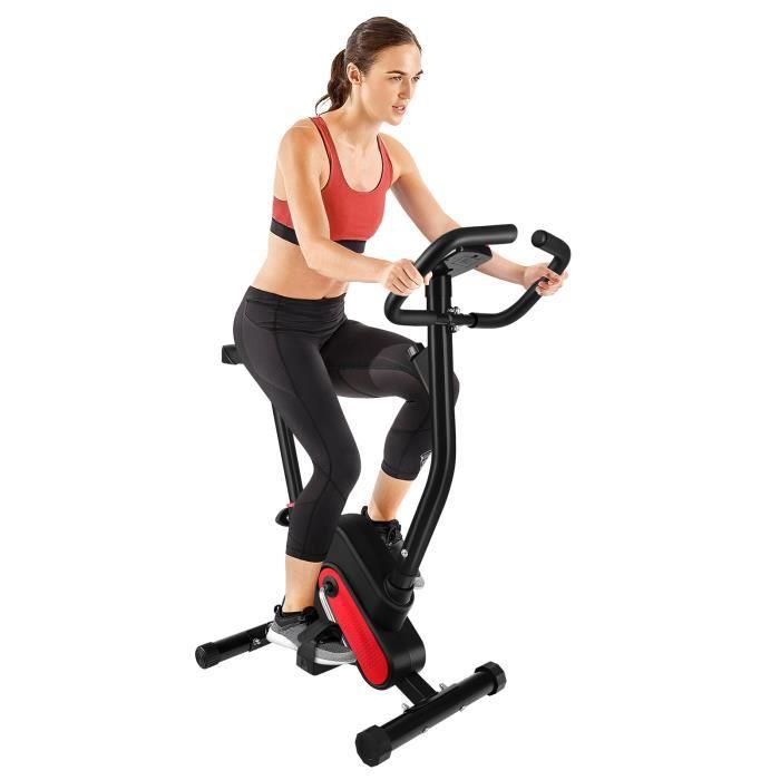 Vélo d'Appartement,niveaux de résistance réglables,Vélo de Fitness et Exercice à la Maison