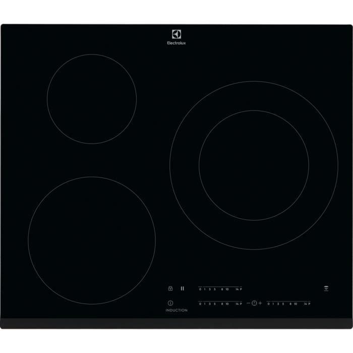 Electrolux LIT60342, Intégré, Plaque avec zone à induction, Noir, 2500 W, 14,5 cm, 3700 W