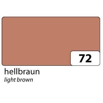 Lot 5 feuilles cartonnées fort grammage, format A4, 300 gr m², 57 coul. au choix - 72-Brun clair