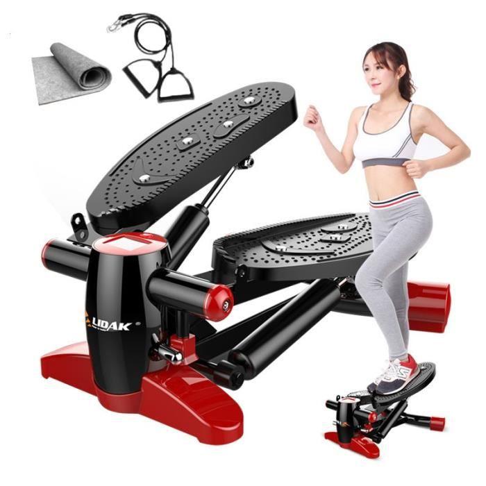 Steppers Machines de course sport Mini tapis roulant multifonctionnel pour la maison équipée calme perdre du poids pédale équipement