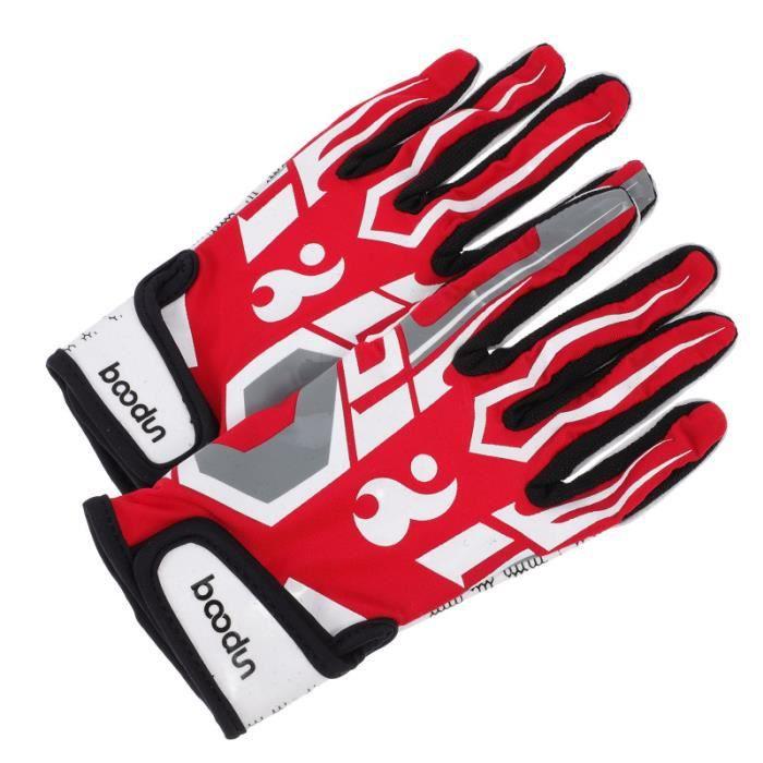 1 paire de gants de baseball polyvaliques de gants de gardien de football football