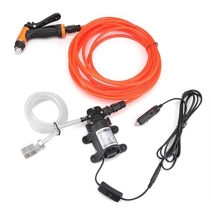 Lavage pistolet à eau de voiture Outil de kit de pompe de lave-auto Kit de pompe à haute pression