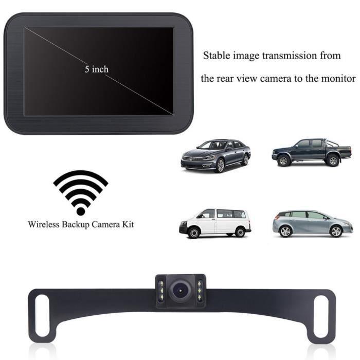 Caméra de recul pour voiture avec écran 5 -, caméra de recul HD