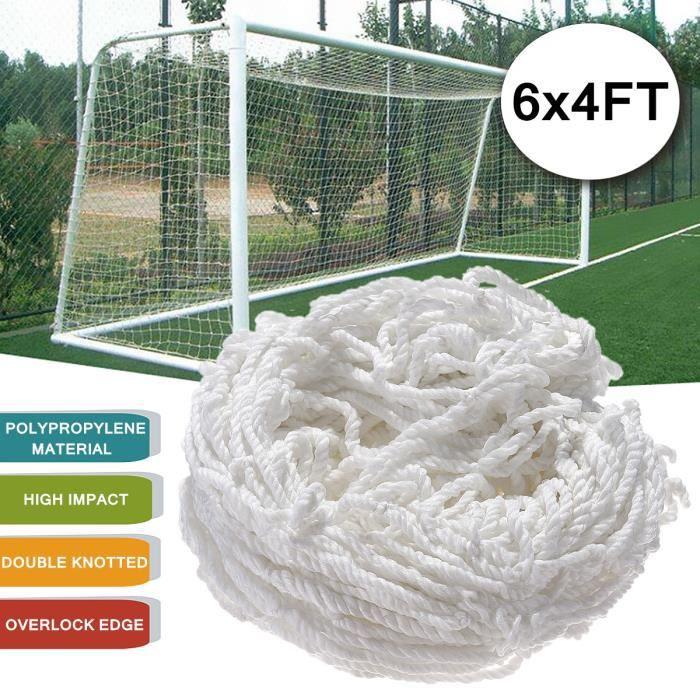 TEMPSA 6x4 ft Filet de Football Haute Résistance en Polypropylène Sport Formation Jardin