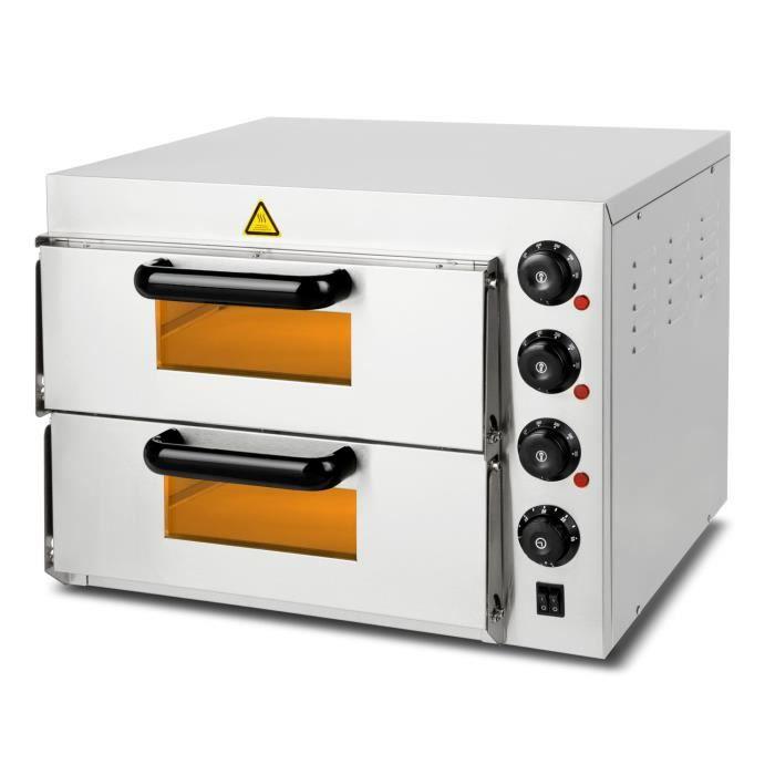 vertes Four à pizza Gastro avec puissance de 3000 Watt