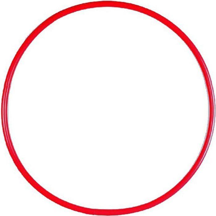 Cerceau rond 85 cm en PEHD- Coloris rouge