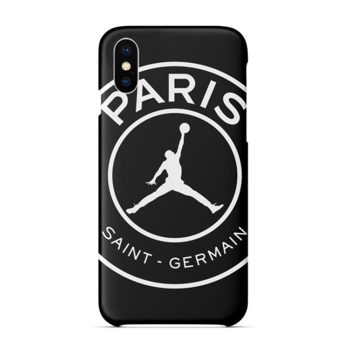 Coque iPhone 8 Plus-7 Plus,Pairs PSG Air Jordan Mo