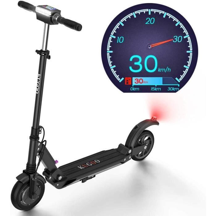 urbetter Trottinette Electrique Scooter /Électrique Pliable et R/églable en Hauteur pour Ados et Mixte Adulte KUGOO S1 Moteur de 350W Vitesse jusqu/à 30 km//h