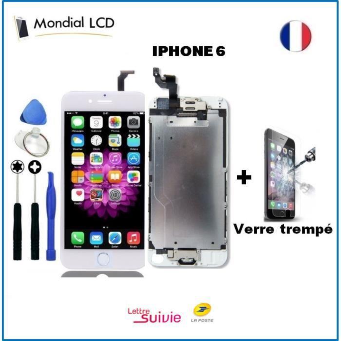 ECRAN DE TÉLÉPHONE Ecran iPhone 6 Blanc Complet