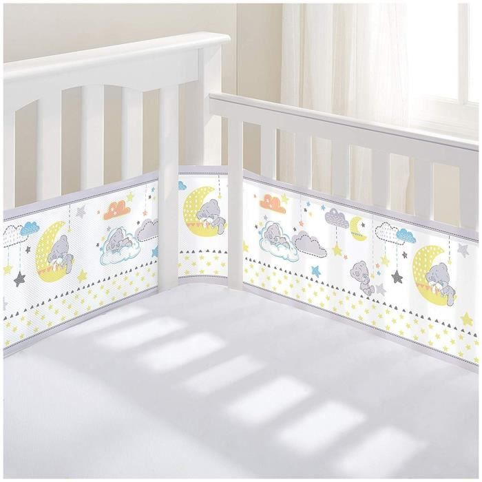 Respirant bébé Tatty Teddy 2 faces//4 faces Cot Liner