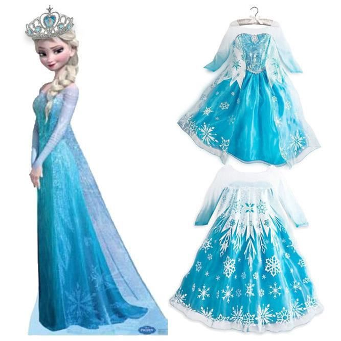 deguisement disney 5 6 ans frozen reine des neiges achat vente d guisement panoplie. Black Bedroom Furniture Sets. Home Design Ideas