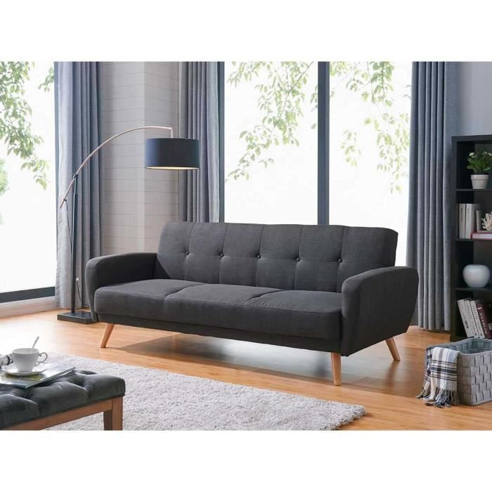 Canap convertible ariana 3 places gris achat - Canape convertible 6 places ...