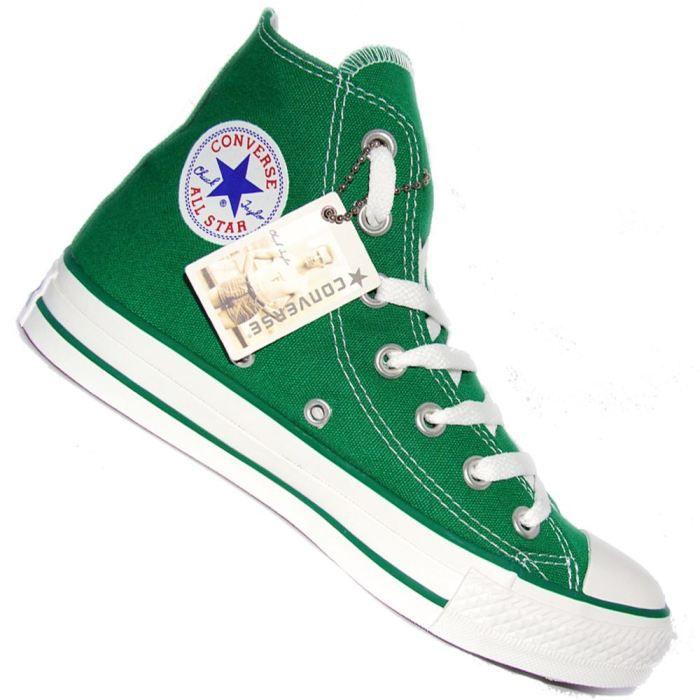 all star converse homme vert