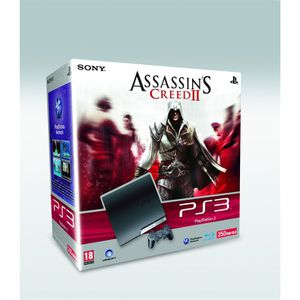 CONSOLE PS3 Pack console Sony PS3 Slim 250 Go + Assassin's Cre
