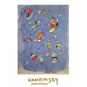 posters kandinsky achat vente posters kandinsky pas cher cdiscount. Black Bedroom Furniture Sets. Home Design Ideas