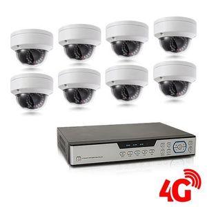 CAMÉRA DE SURVEILLANCE Kit de vidéosurveillance 3G 4G intérieur-extérieur