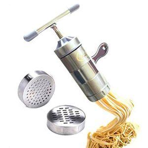 MACHINE À PÂTES Machine manuelle de pâtes de presse d'acier inoxyd