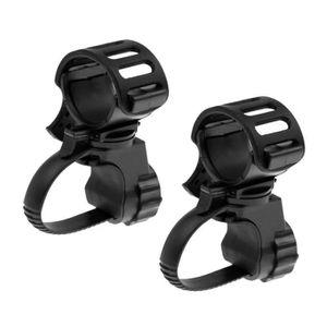 360 ° pivotante Hama Universel-lampes de poche-SUPPORT pour vélo guidon noir