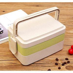 LUNCH BOX - BENTO  Déjeuner Lunch Box Portable En Plastique Alimentai