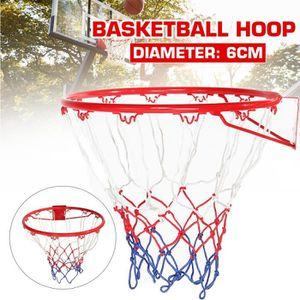 Cerceau et Panneau de Basket-Ball Ensemble de Panneau et de Jante de Basket-Ball Impact Cerceau de Basket-Ball Anneau de Panier Suspendu ext/érieur fix/é au Mur 45cm Mini syst/ème Basket-Ball int/érieu