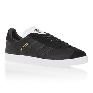 BASKET ADIDAS ORIGINALS Baskets Gazelle - Femme - Noir