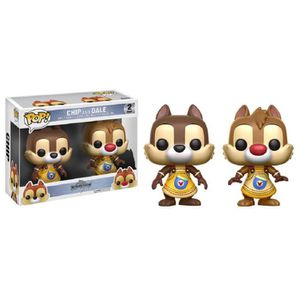 FIGURINE - PERSONNAGE 2 Figurines Funko Pop! Disney Tic et Tac : Chip &