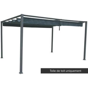 TONNELLE - BARNUM Toile de toit pour la tonnelle Palmeira 4 x 3 m Ar