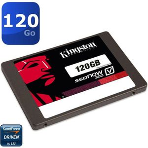 DISQUE DUR SSD Kingston SSDNow V300 120Go    SV300S37A/120G