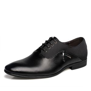 DERBY Hommes chaussures habillées en cuir chaussures cha