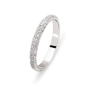 ALLIANCE - SOLITAIRE ALLIANCE OR BLANC 18 Cts 2,5mm