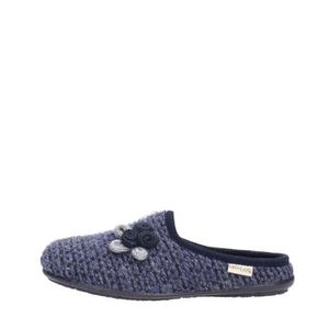 SLIP-ON Grunland Slipper Femme Blue