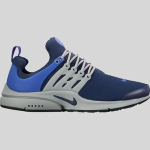 the latest b62fa aacef BASKET Baskets Nike Air Presto Essential bleu 848187-400.