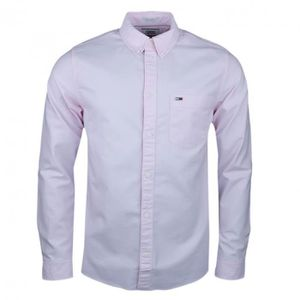 JEANS Chemise oxford Tommy Jeans rose regular pour homme