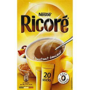 CHICORÉE & CAPPUCCINO Nestlé Ricoré Café soluble à la chicoré soluble en