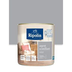 PEINTURE - VERNIS RIPOLIN Peinture Murale Toutes Pièces  - Argent Sc