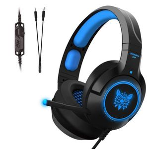 CASQUE AVEC MICROPHONE K9 Tenswall Casque Gaming PS4,Casque Gamer pour PC