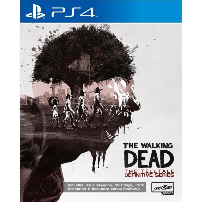 The Walking Dead Intégrale Jeu PS4