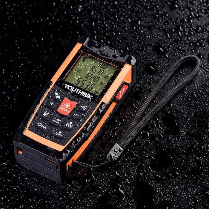 Télémètre laser X6 avec niveau électronique 100 mètres orange-XIU