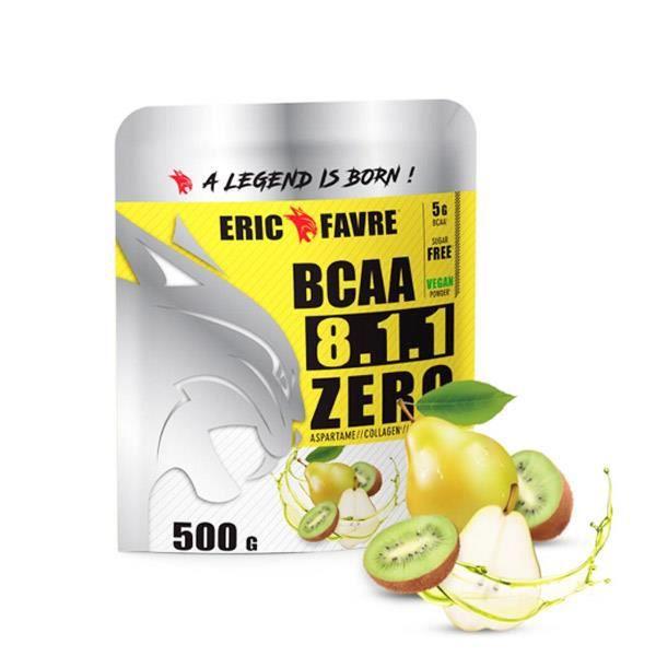 Complément alimentaire à base d'acides aminés saveur poire kiwi.