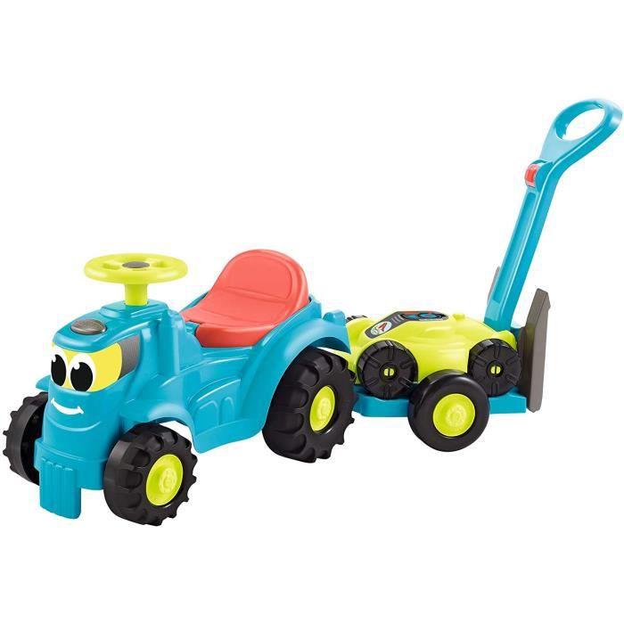 Jouets Ecoiffier - 4350 - Tracteur + remorque + Tondeuse - Jeux de Plein air pour Enfants - De 12 &agrave 36 Mois - Fabriqu&eac15