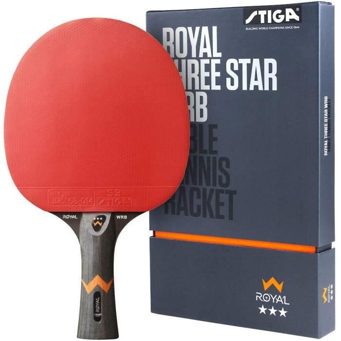 STIGA Royal 3 Etoiles Raquette de Tennis de Table Pro Ping Pong Racket