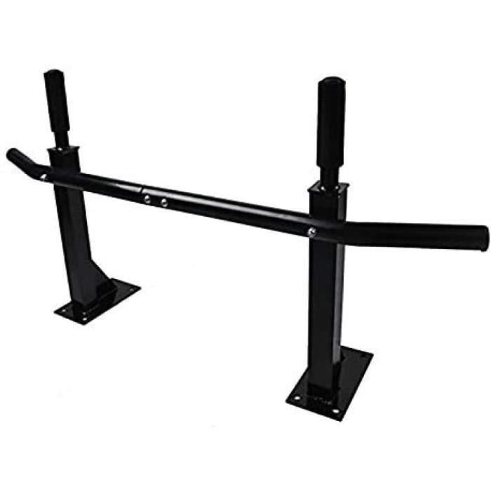 DIP STATION N Barre de traction barre de fitness murale pour renforcer les muscles et corriger la posture max 120 kg916